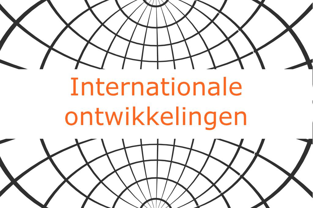 Internationale ontwikkelingen